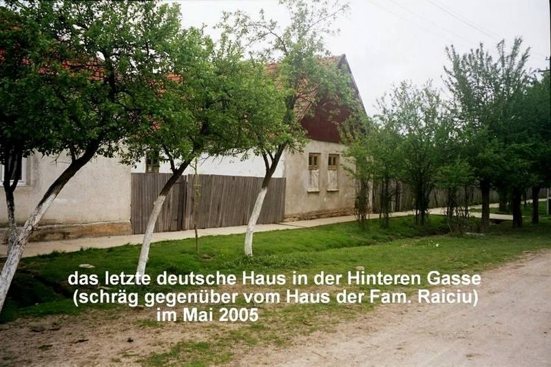 letztes deutsches Haus