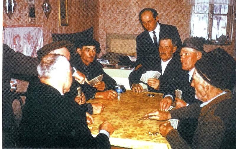 Kragle Kartenspiel der Männer