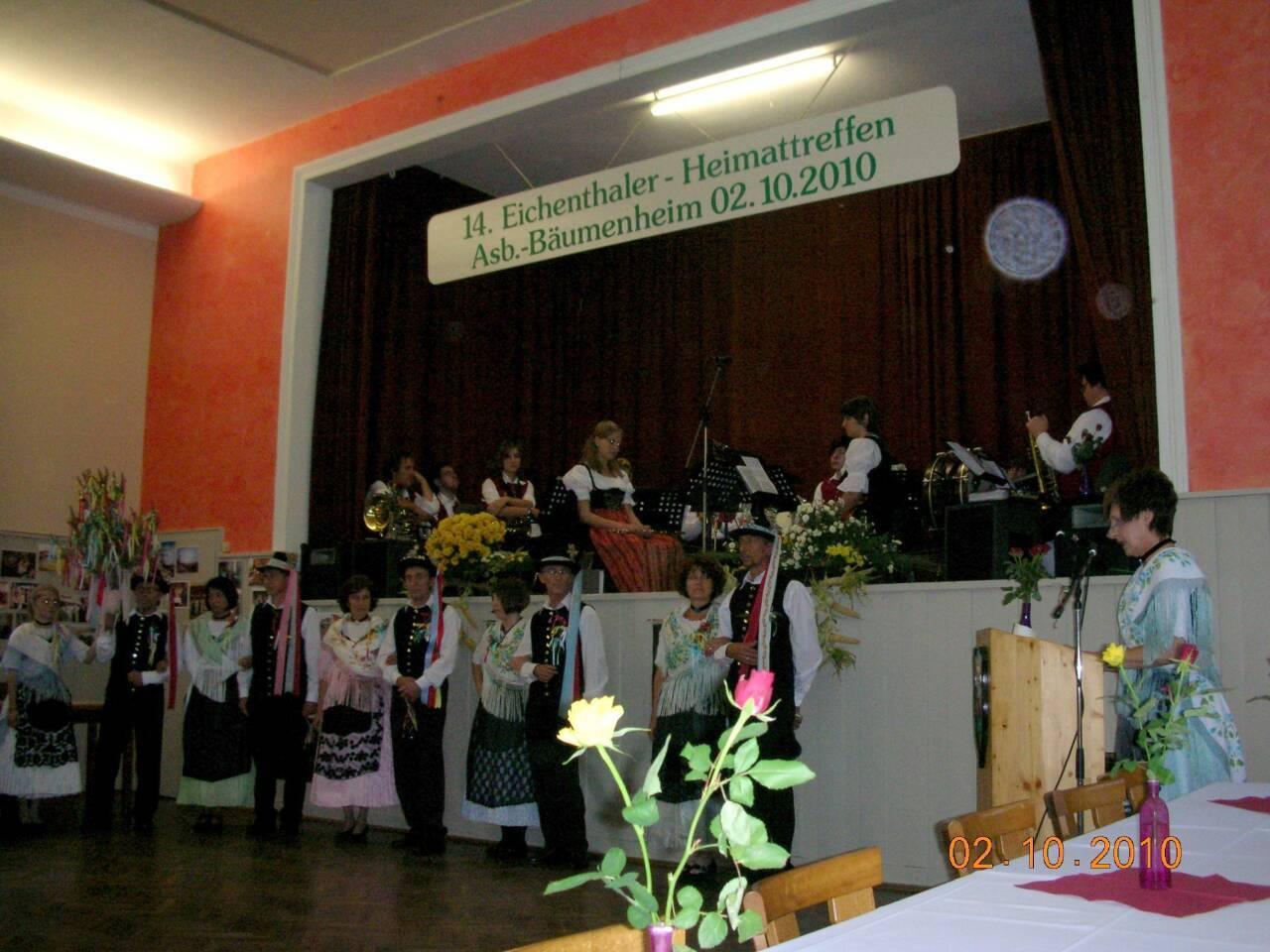 letzte Eichenthaler Treffen in Bäumenheim 2010