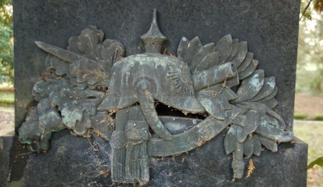 Bronzerelief Friedhof Meerane