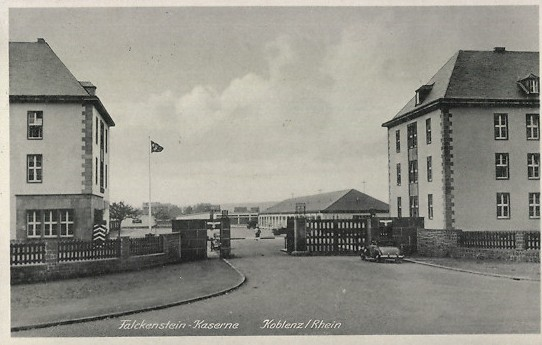 Falckenstein-Kaserne Koblenz 1940