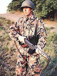 Bundeswehr Leibermuster Truppenversuch 1955-1958