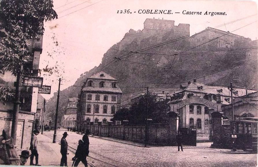 Caserne Argonne Koblenz-Ehrenbreitstein