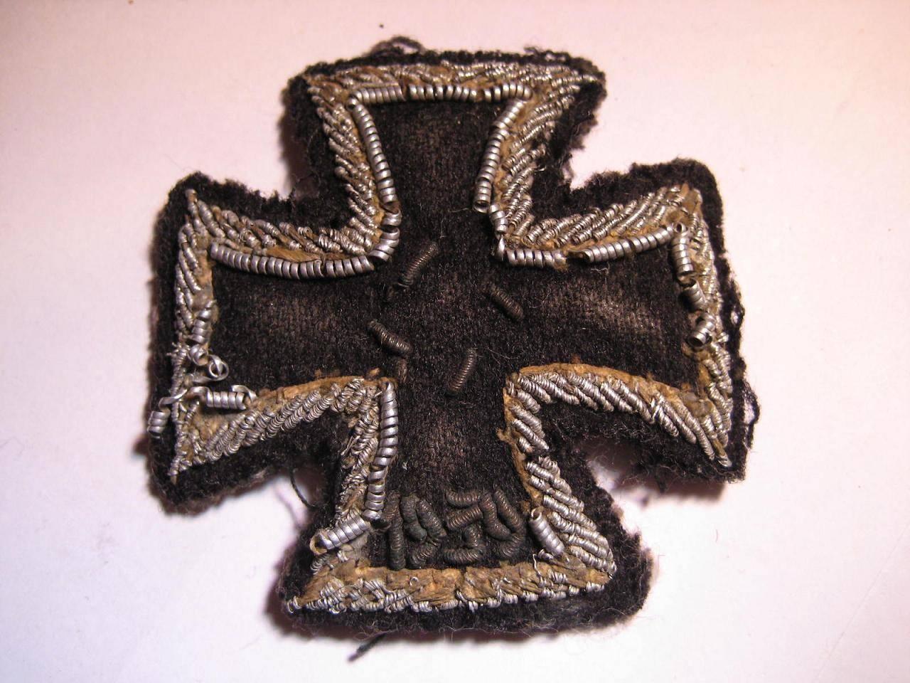 Eisernes Kreuz 1939 Stoffausführung