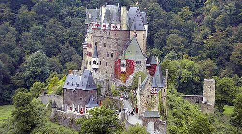 Autour de Koblenz ; fortifications, chateaux, monuments ... Eltz-2