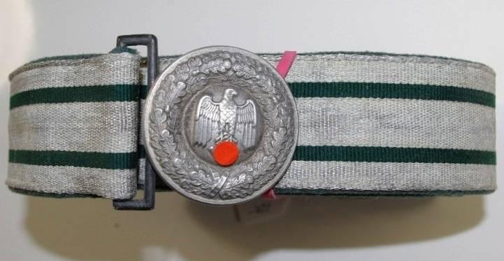 WH-Offizersfeldbinde, Wehrmacht Heer Feldbinde, Feldbinde 2. WK (2. Weltkrieg)