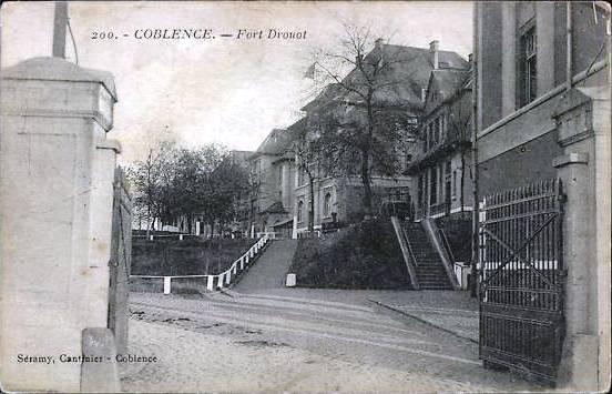 Fort Druot Coblence - Feldartillerie-Kaserne Koblenz
