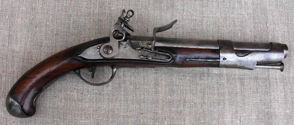 französische Kavalleriepistole M 1763-66 libreville