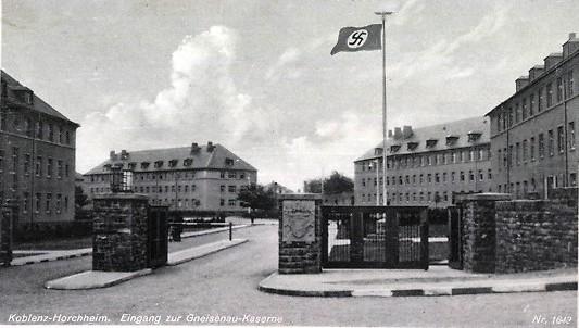 Gneisenau Kaserne Koblenz Horchheim