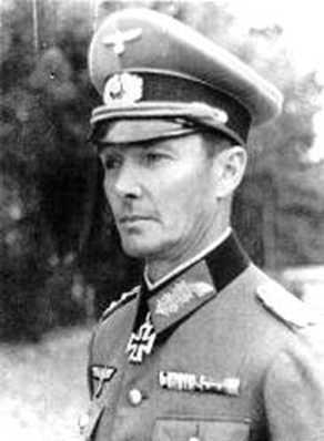 General Joachim von Kortzfleisch - Brücke von Remagen