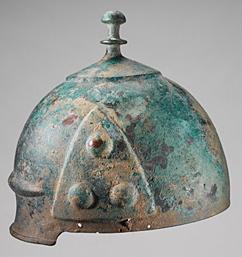 keltischer Bronzehelm