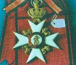 Württemberg, Kronen-Orden, Großkreuz f. Fürstlichkeiten, 1851 - 1900