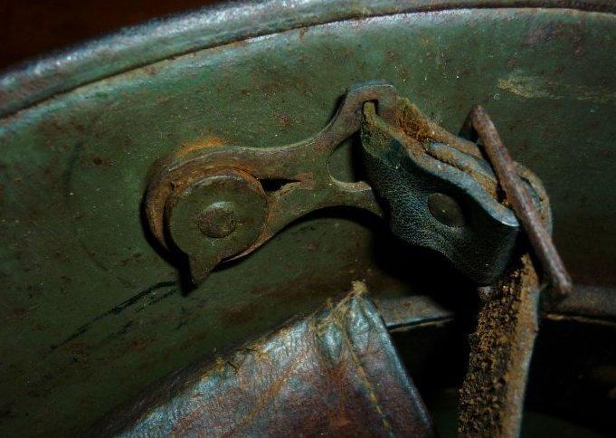 Stahlhelm M16 Knopf M91