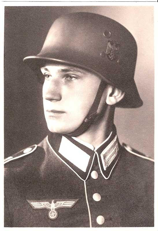 Paradehelm der Wehrmacht Vulkanfiber