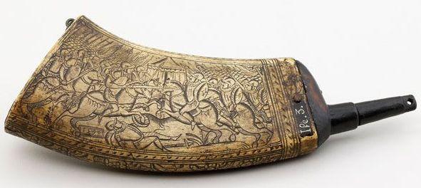 Pulverhorn 16. Jahrhundert