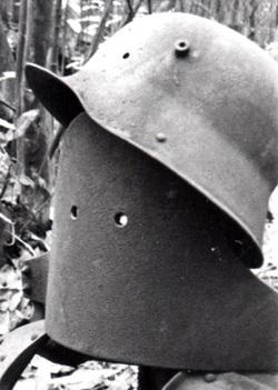 deutsche Scharfschützenmaske 1.WK