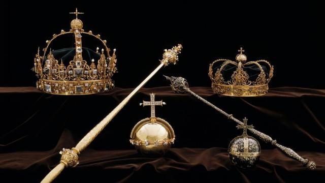 schwedische Kronjuwelen