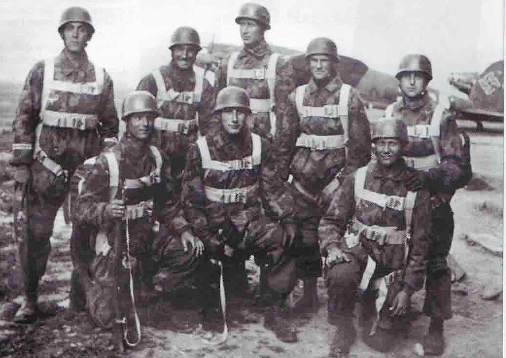 Waffen-SS Fallschirmjäger