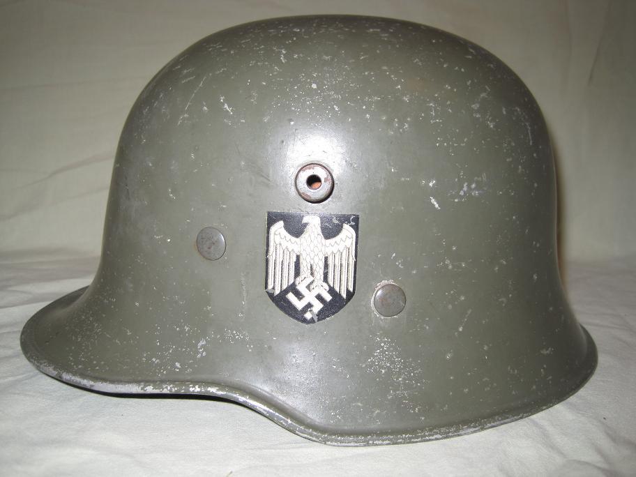 Wehrmacht Paradehelm Aluminium
