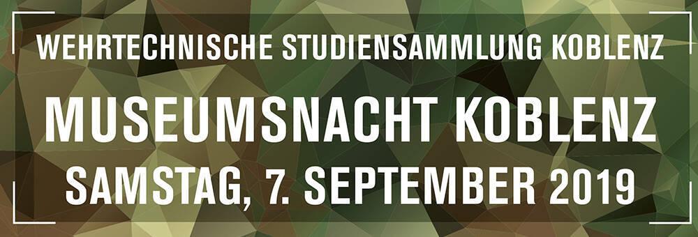 Museumsnacht WTS Koblenz