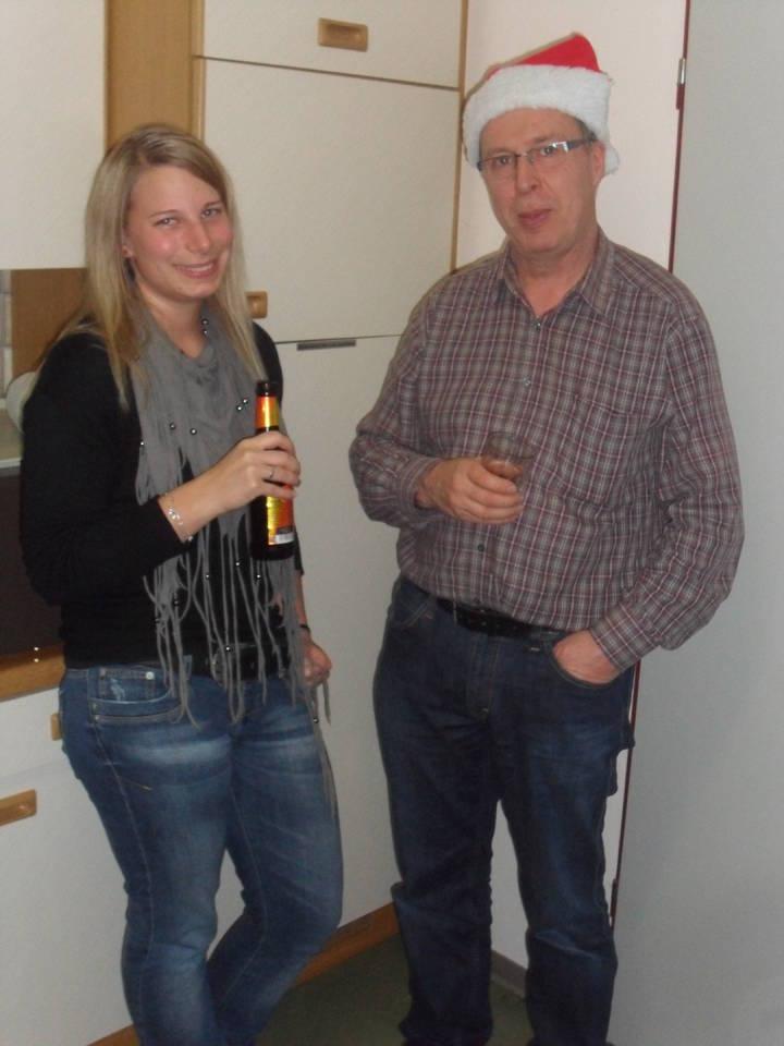 Stellv. Vorsitzende Laura Luis und Vorsitzender Peter Henke