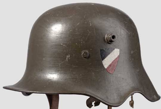 """""""Kavallerie-Helm"""" Stahlhelm M18 mit Ohrenausschnitt"""