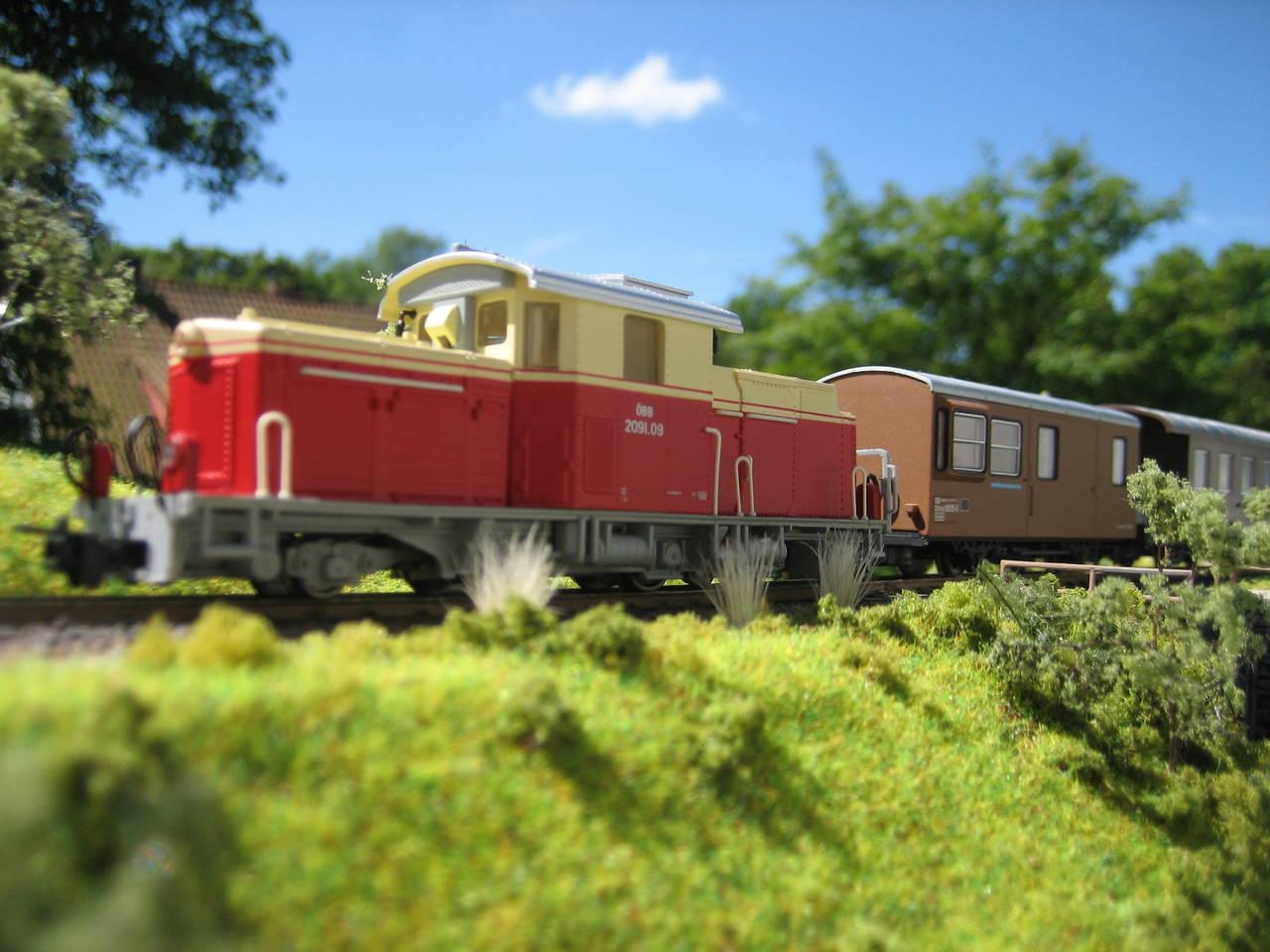 ÖBB BR 2091 rot-beige