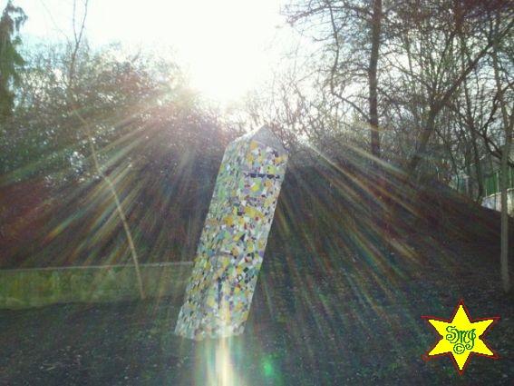 Obelisk im Sonnenglanz - Foto von Silberglanz. to de, S.J.M.