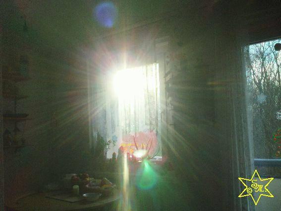 Lichterglanz in der Schattenwelt, Silberglanz, Lichtfenster, Engel