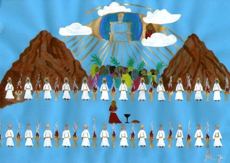 24 Älteste, das Volk und die himmlische Regierung