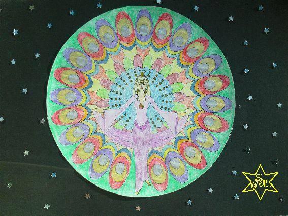 Mein Lichterglanz, Gottes Gespräche, Mandala, Königin, Silberglanz