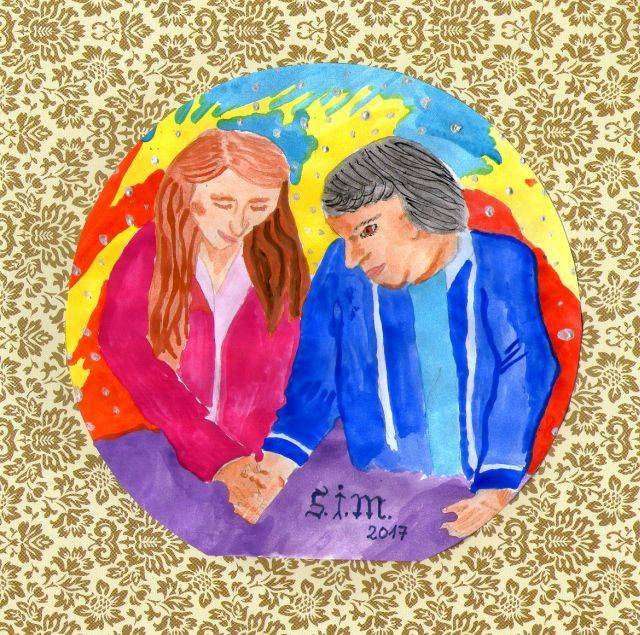Zusammenhalt - eigene Zeichnung von S.J.M.