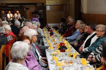 Die 45. Altenfeier war wieder sehr gut besucht.