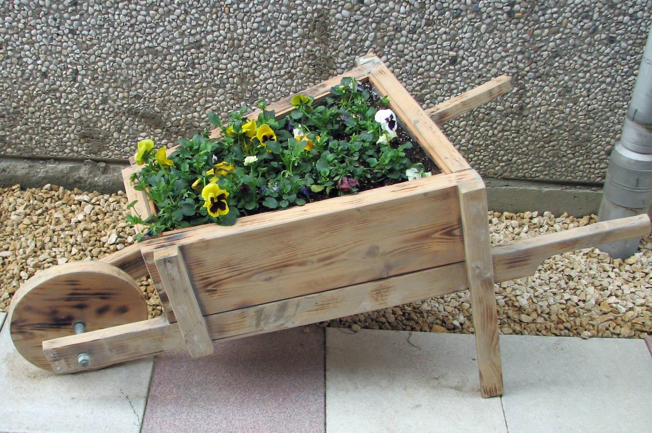 hout voor bloembakken