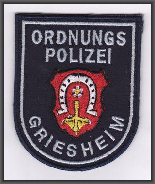 hilfspolizist frankfurt am main