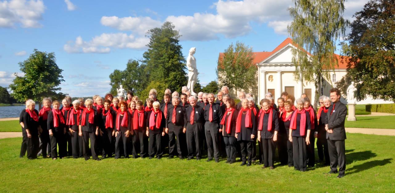 Während der Chorarbeitswoche in Rheinsberg