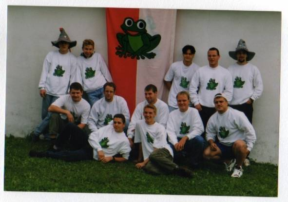 Gruppenbild aus dem Jahre 1996