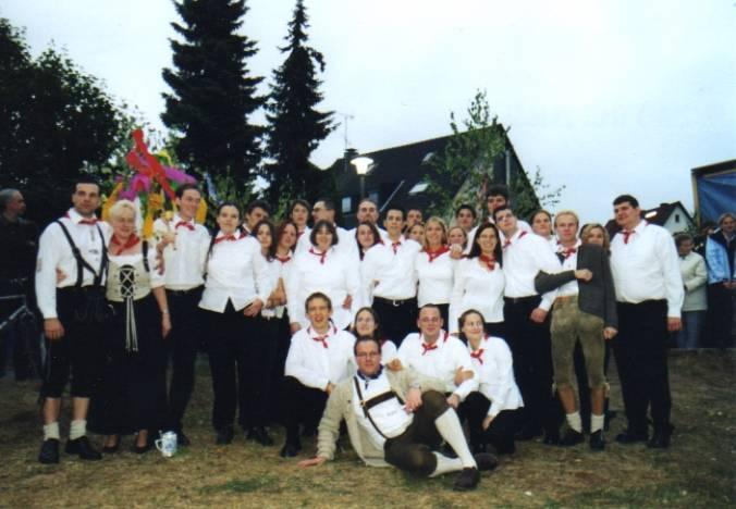 Gruppenbild aus dem Jahr 2003