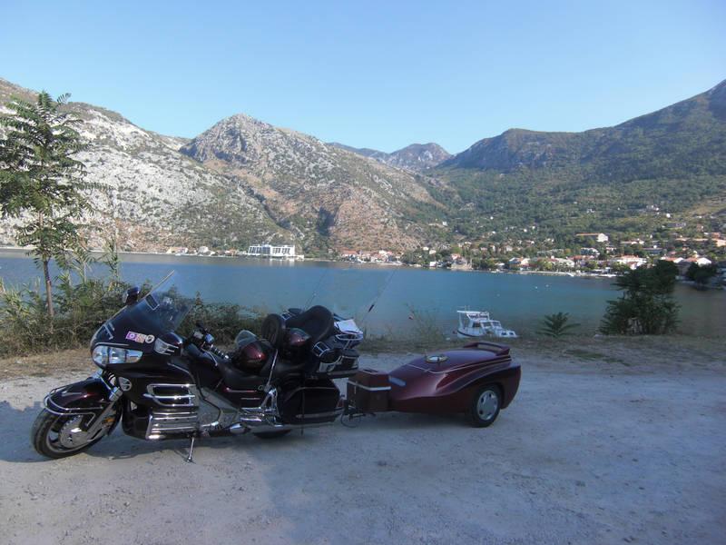 auf unserer Tour zum Goldwingtreffen in Griechenland
