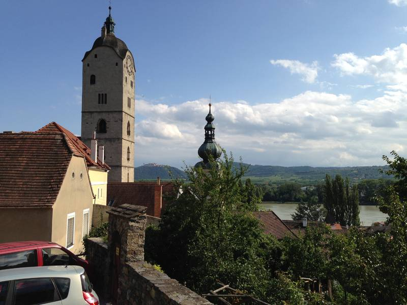 Krems/Stein - Donaublick