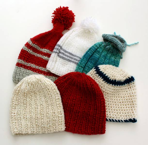 Mütze stricken und häkeln