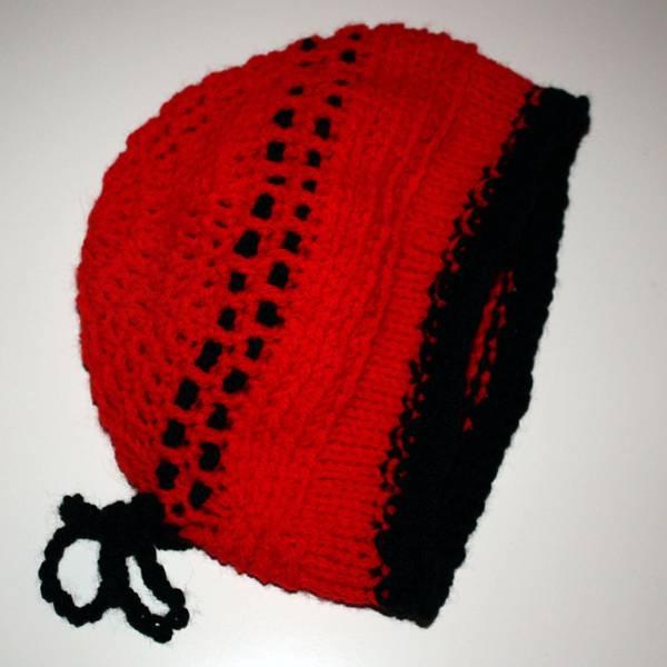 Rotkäppchen - rote Chemomütze - red chemo cap