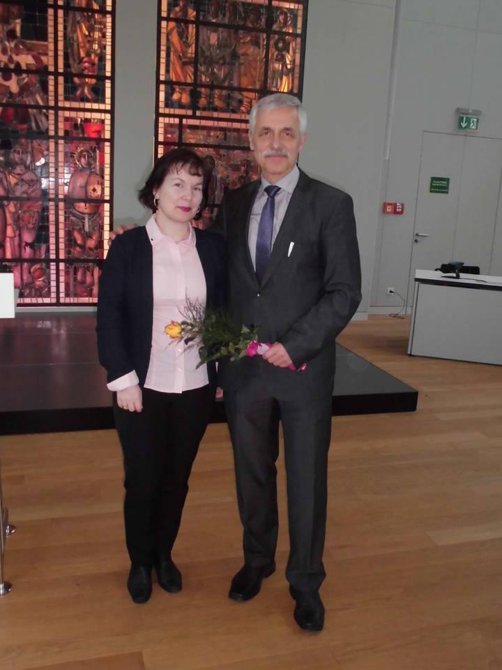im Bild von links: Doreen Urban-Kern, Walter Kämpfer