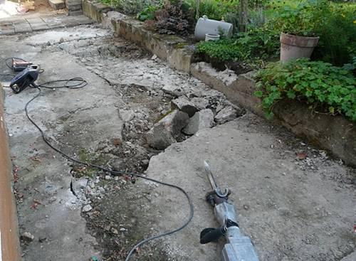 Der heutige Fuchsienweg vor der Neugestaltung
