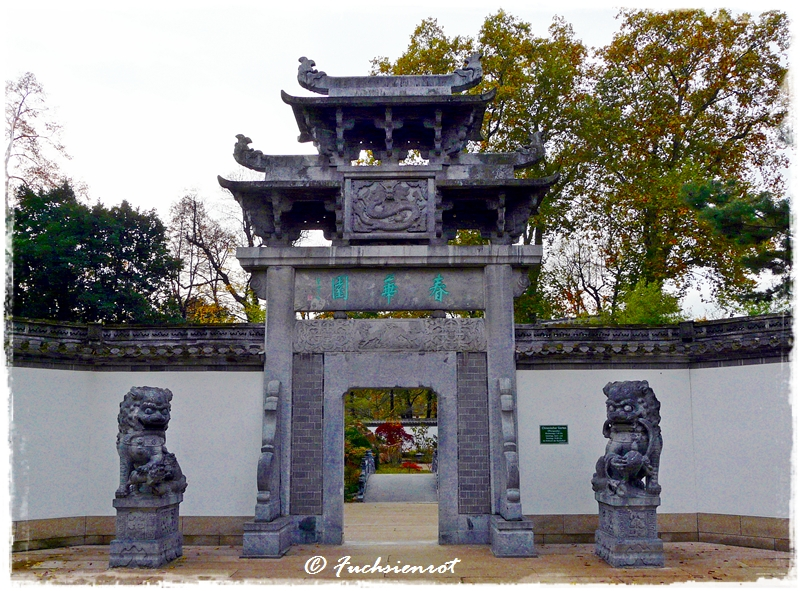 Portal Chinesischer Garten