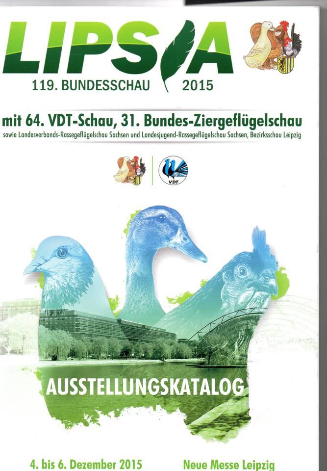 Titelblatt Schaukatalog 2015