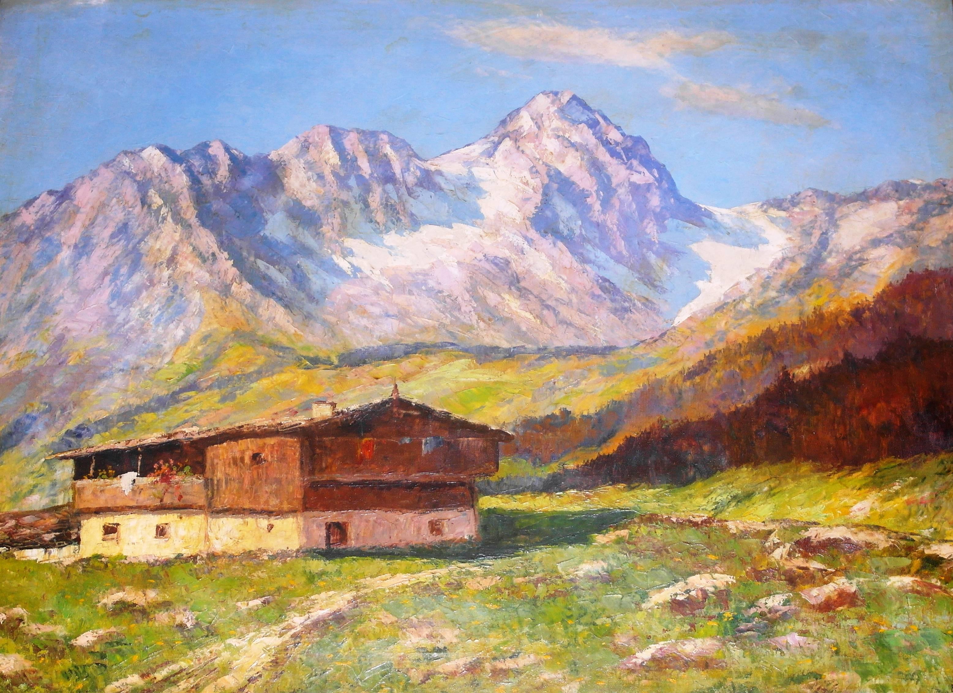 Landschaftsmalerei expressionismus nolde  Webmuseum