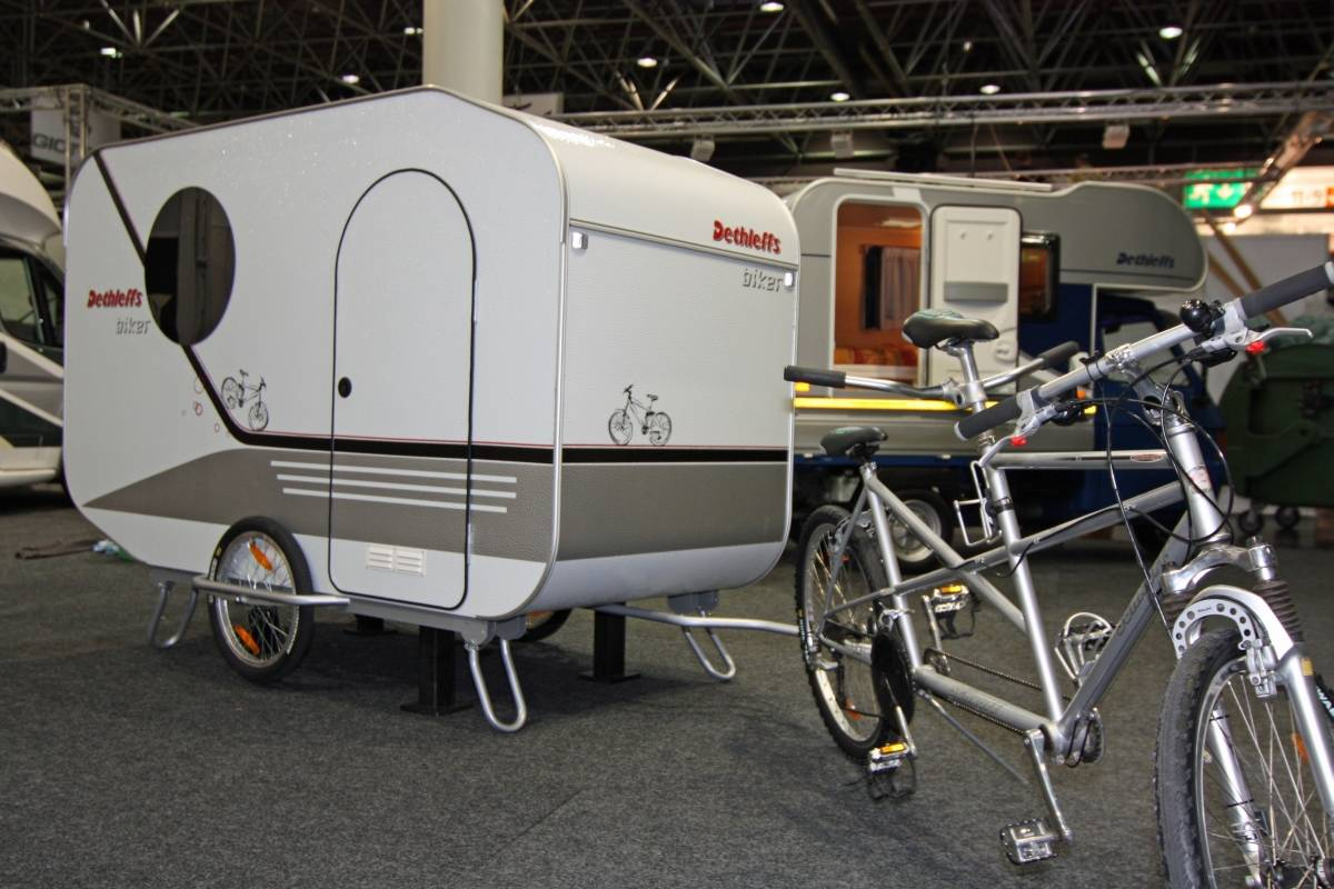 fahrrad campinganh nger selber bauen der fahrrad wohnwagen zum selberziehen stern fahrrad. Black Bedroom Furniture Sets. Home Design Ideas