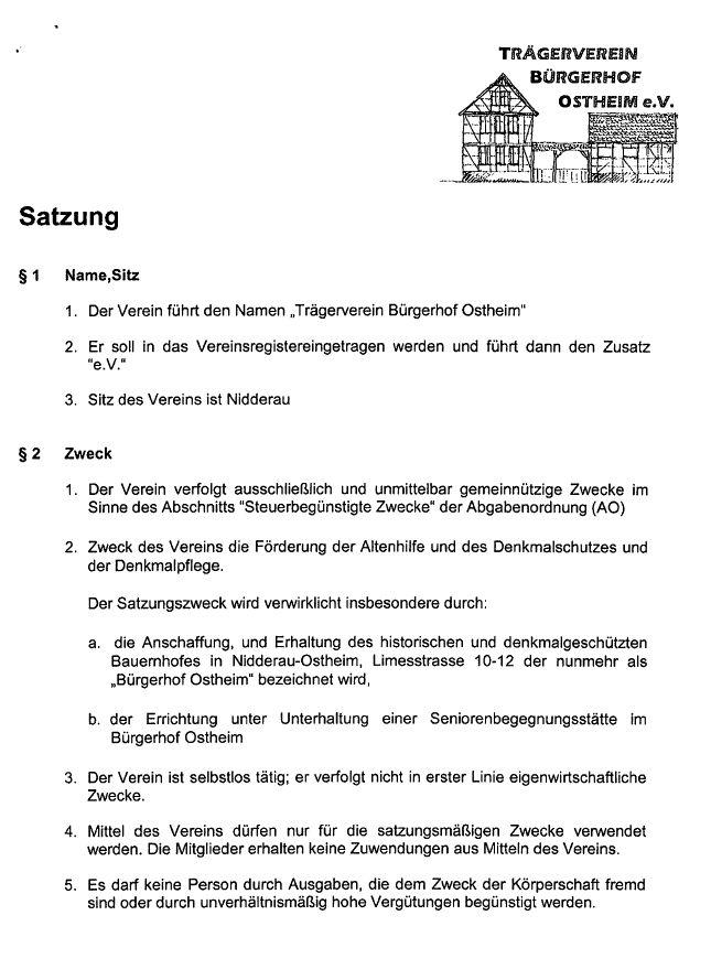 Charmant Social Club Satzung Vorlage Zeitgenössisch ...