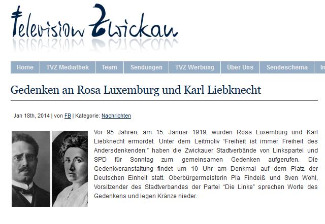TV Zwickau 18.01.2014